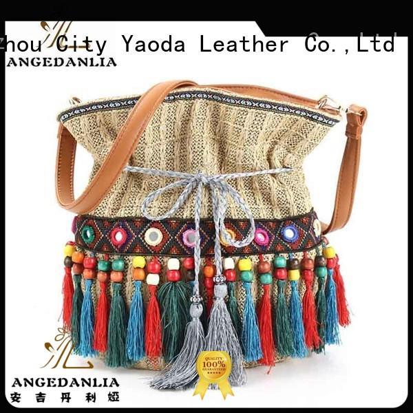 ANGEDANLIA Brand ladies bohemian tote bag summer supplier