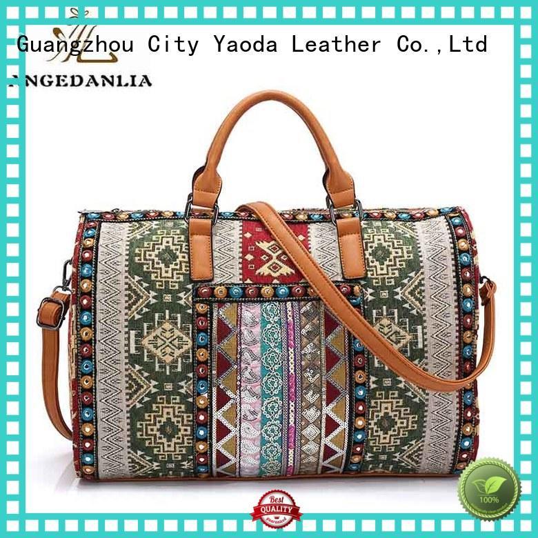 ANGEDANLIA handcraft boho bags straw for girls