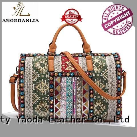 beaded ethnic boho bags fur ANGEDANLIA Brand company