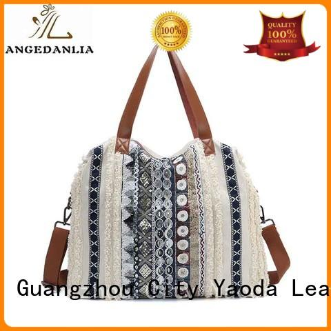 canvas bag design promotional tote ANGEDANLIA Brand
