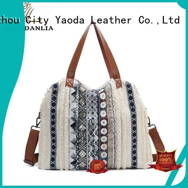 ladies small canvas bags online for travel ANGEDANLIA