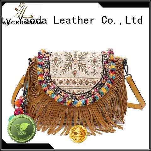 ANGEDANLIA handcraft boho tote bags Large capacity for women