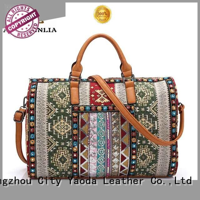 ANGEDANLIA laser boho leather bags for lady