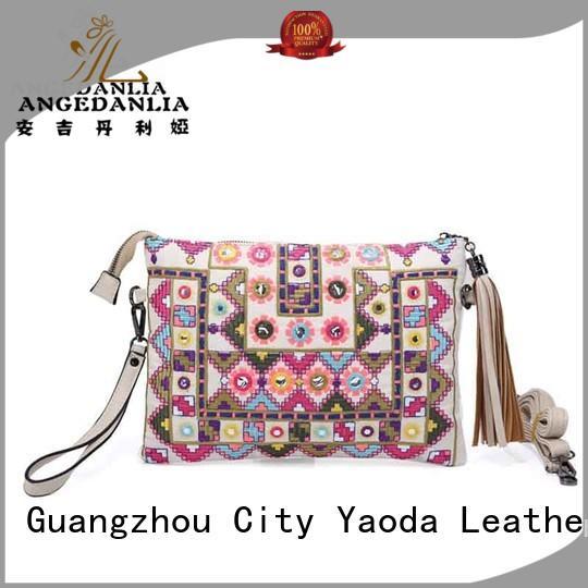 ANGEDANLIA lady boho shoulder bag supplier for women