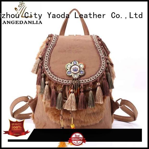 ANGEDANLIA backpack boho handbags wholesale for lady