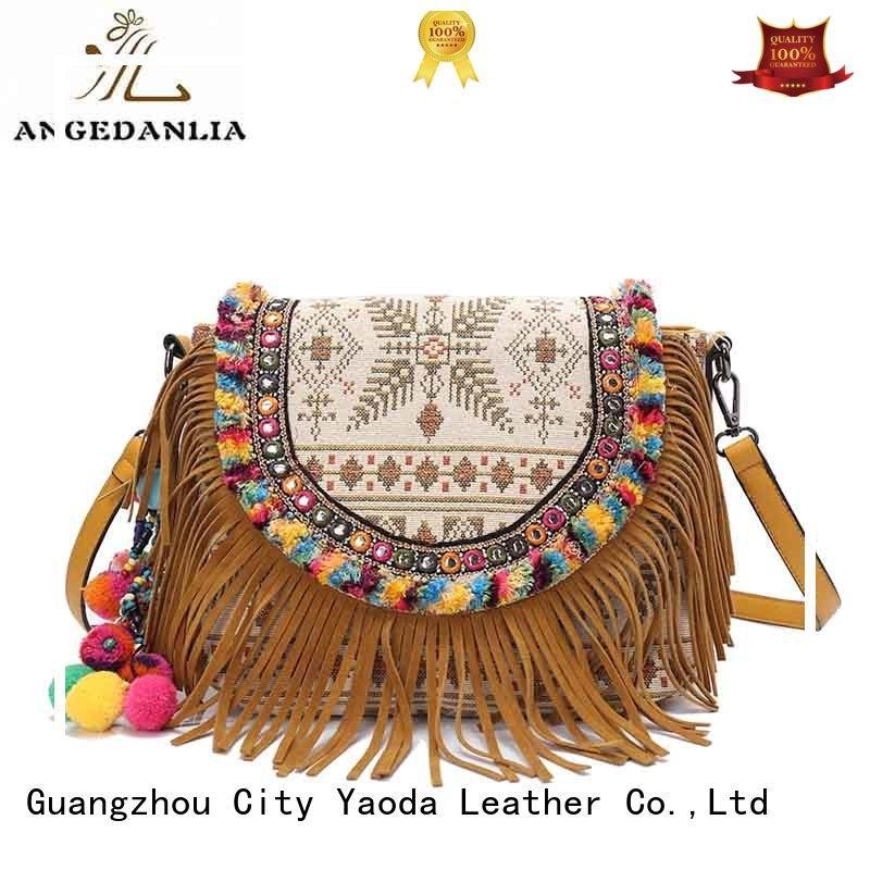 ANGEDANLIA women vintage boho bags supplier for travel