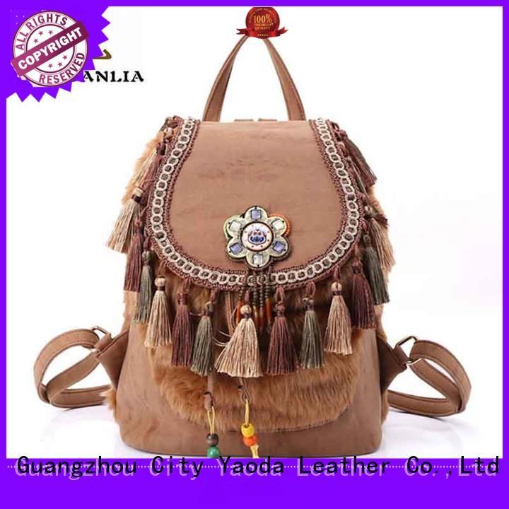 stylish bohemian bag messenger good quality for lady