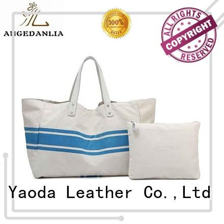ANGEDANLIA popular canvas tote purse Chinese for shopping
