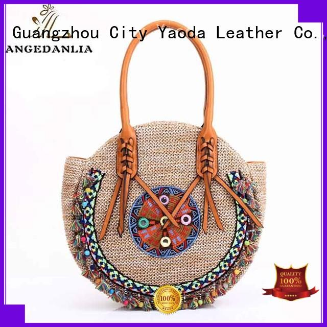 ANGEDANLIA handcraft bohemian style purse wholesale for girls