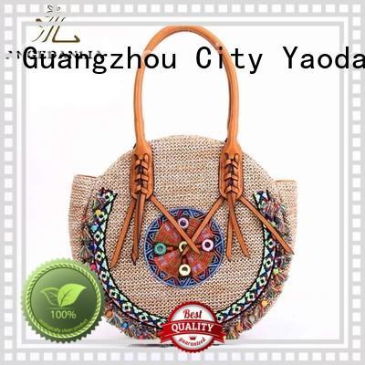 Summer lady pp straw bag beach handbags