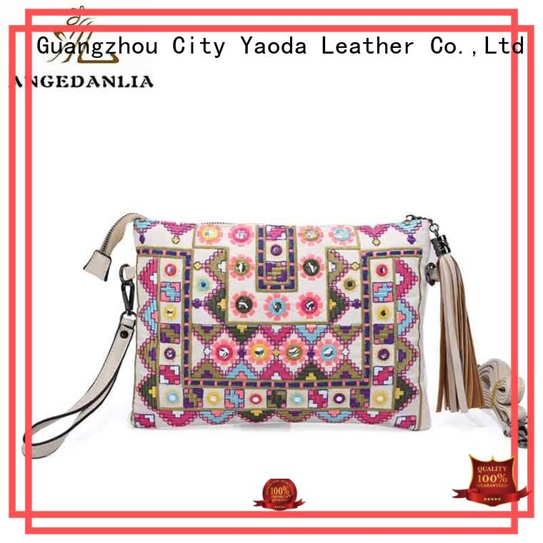 ANGEDANLIA Brand fabric women backpack boho bags