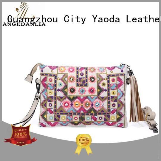 ANGEDANLIA handcraft boho crossbody bag supplier for travel