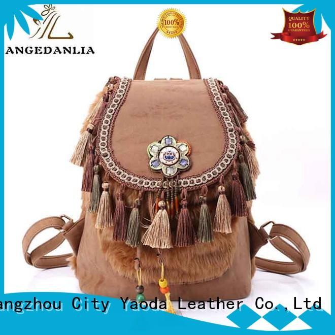 stylish boho hippie bags Large capacity for girls ANGEDANLIA