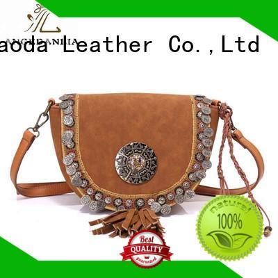 handcraft boho crossbody bag beaded Large capacity for lady