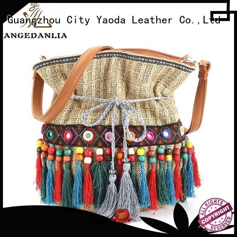 Quality ANGEDANLIA Brand backpacks animal boho bags