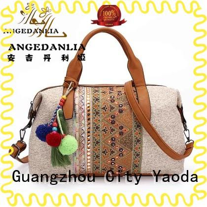 ANGEDANLIA designer bohemian style purse supplier for travel