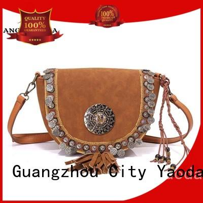 ANGEDANLIA Brand gypsy embellished bohemian tote bag bonia