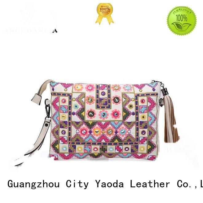 designer bohemian bags purses linen supplier for women