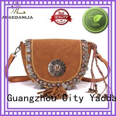 backpacks girl fur fashion ANGEDANLIA Brand boho bags supplier