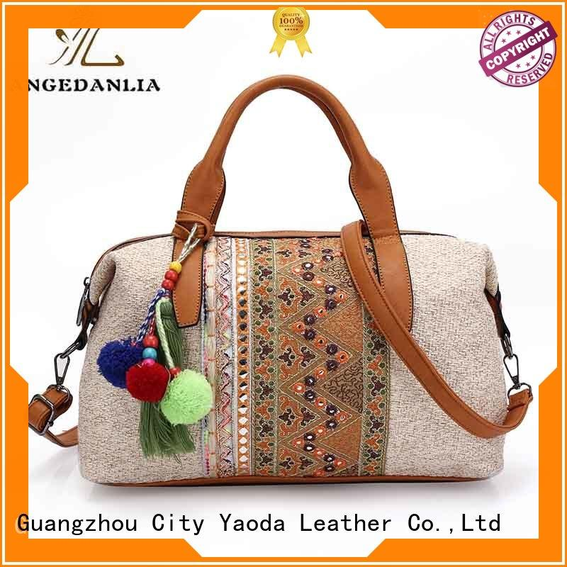stylish boho hippie bags good quality for lady ANGEDANLIA