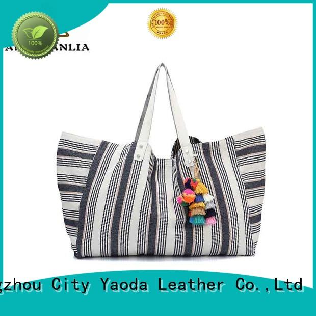 Quality ANGEDANLIA Brand canvas bag design mat bag