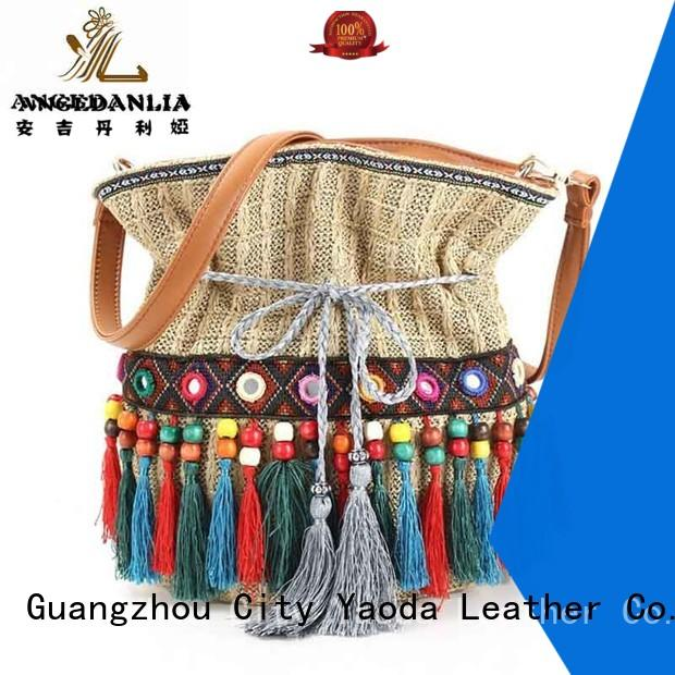 custom bohemian purses and handbags tassel wholesale for lady