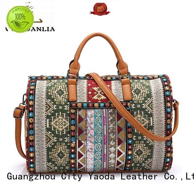 designer boho chic bags Large capacity for lady ANGEDANLIA