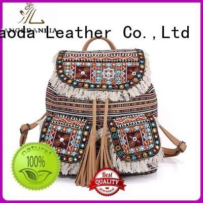 ANGEDANLIA womens boho shoulder bag Large capacity for travel