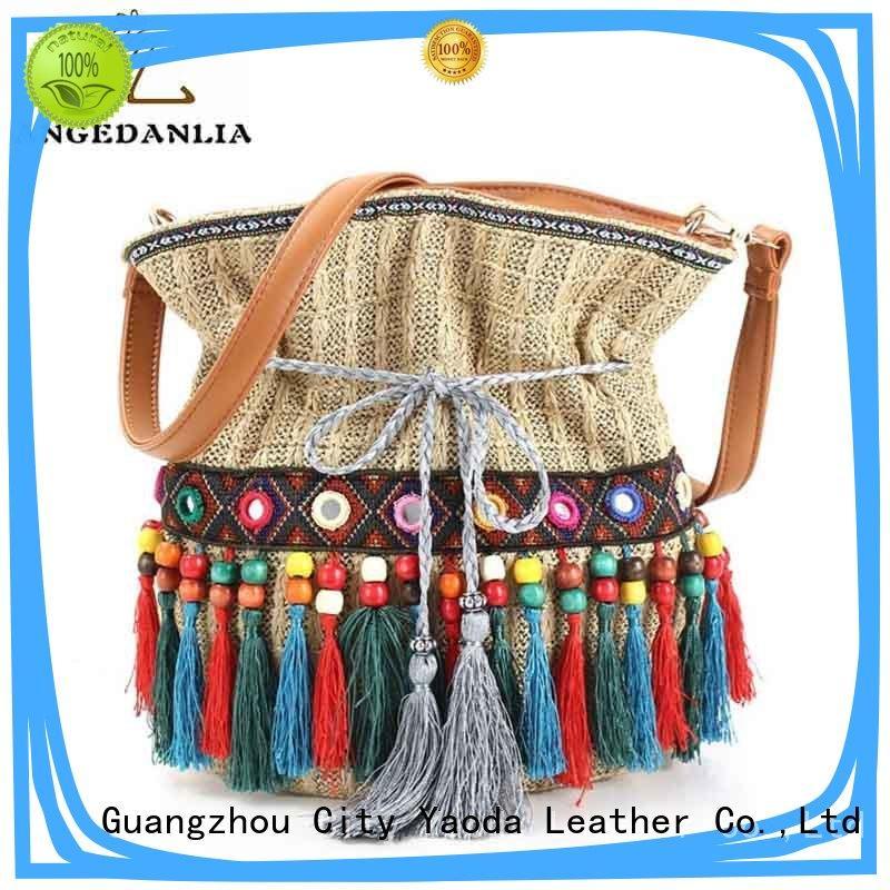 ANGEDANLIA pu boho handbags supplier for travel