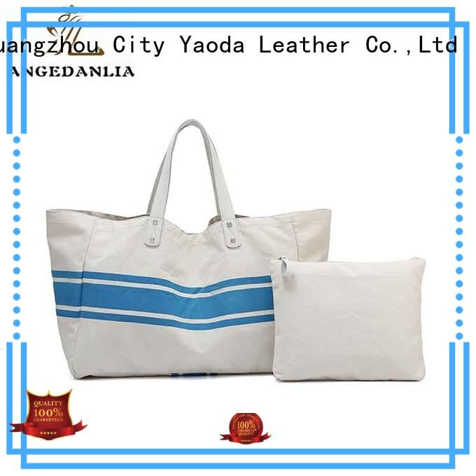 body top canvas tote bags zip ANGEDANLIA company