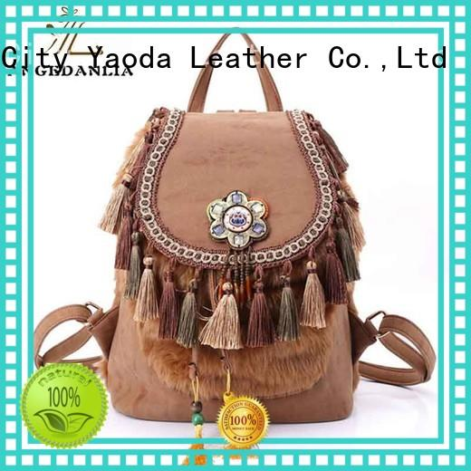weekend backpacks embellished OEM boho bags ANGEDANLIA