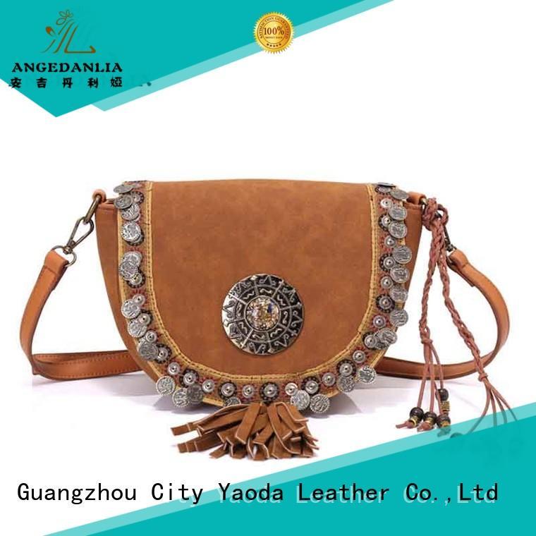 ANGEDANLIA designer boho bags good quality for lady