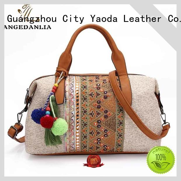 ANGEDANLIA leather boho cross body bags wholesale for lady