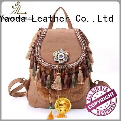 backpacks boho chic handbags for girls ANGEDANLIA