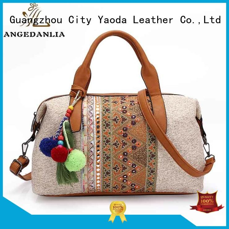 Wholesale summer suede boho bags ANGEDANLIA Brand