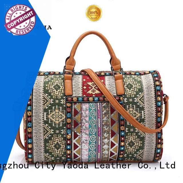 ANGEDANLIA handcraft large boho bag good quality for women