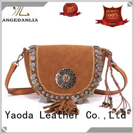 ANGEDANLIA backpack bohemian fringe purse for lady