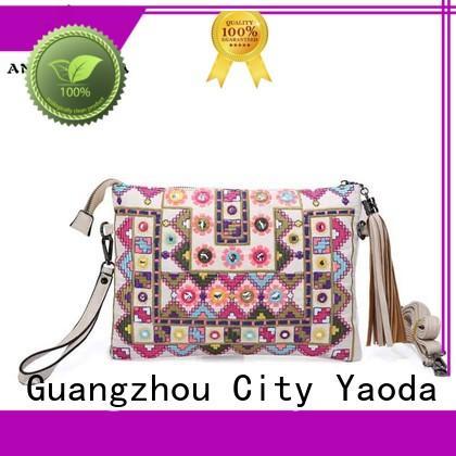 ANGEDANLIA classical boho handbags good quality for travel
