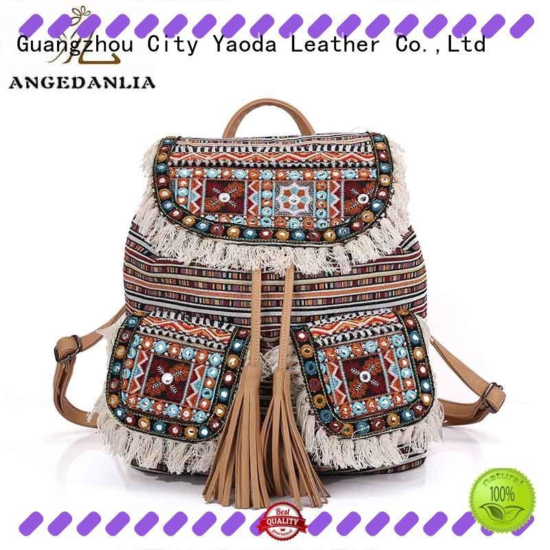 ANGEDANLIA design boho bags good quality for lady