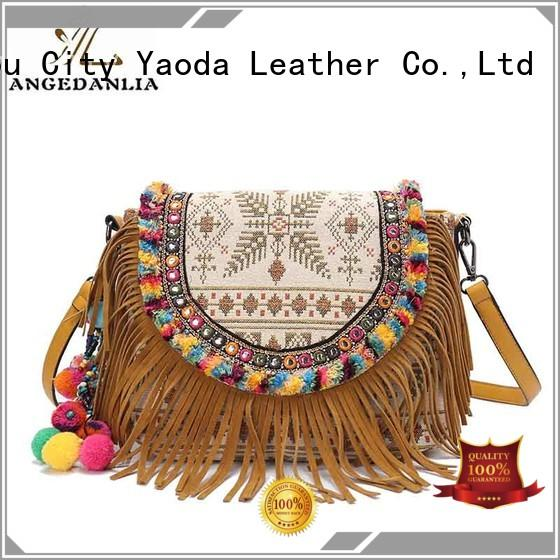 ANGEDANLIA colorful boho handbags supplier for girls