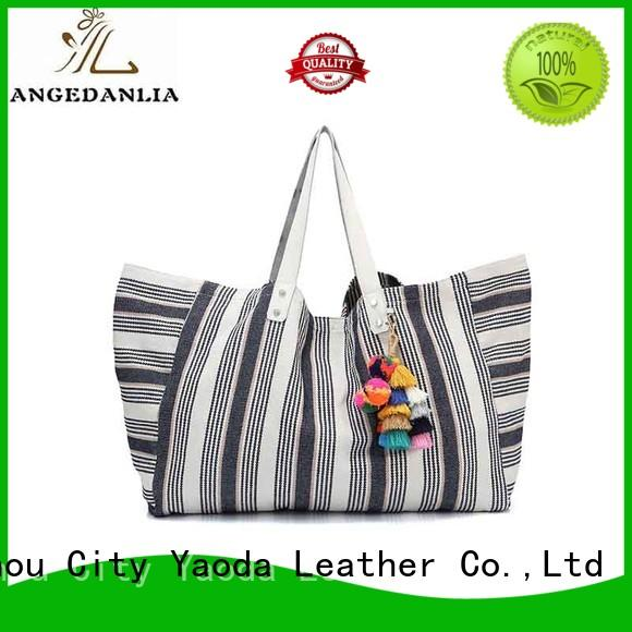 customized canvas leather tote bag designers Chinese for daily life