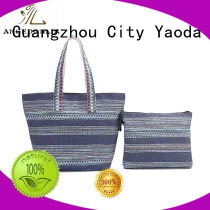 ANGEDANLIA women canvas bag design Chinese for lady