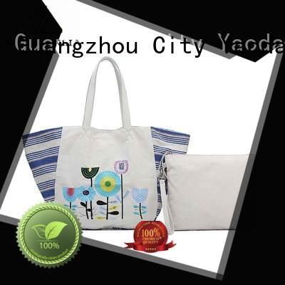ANGEDANLIA Brand bag pu custom canvas bag design