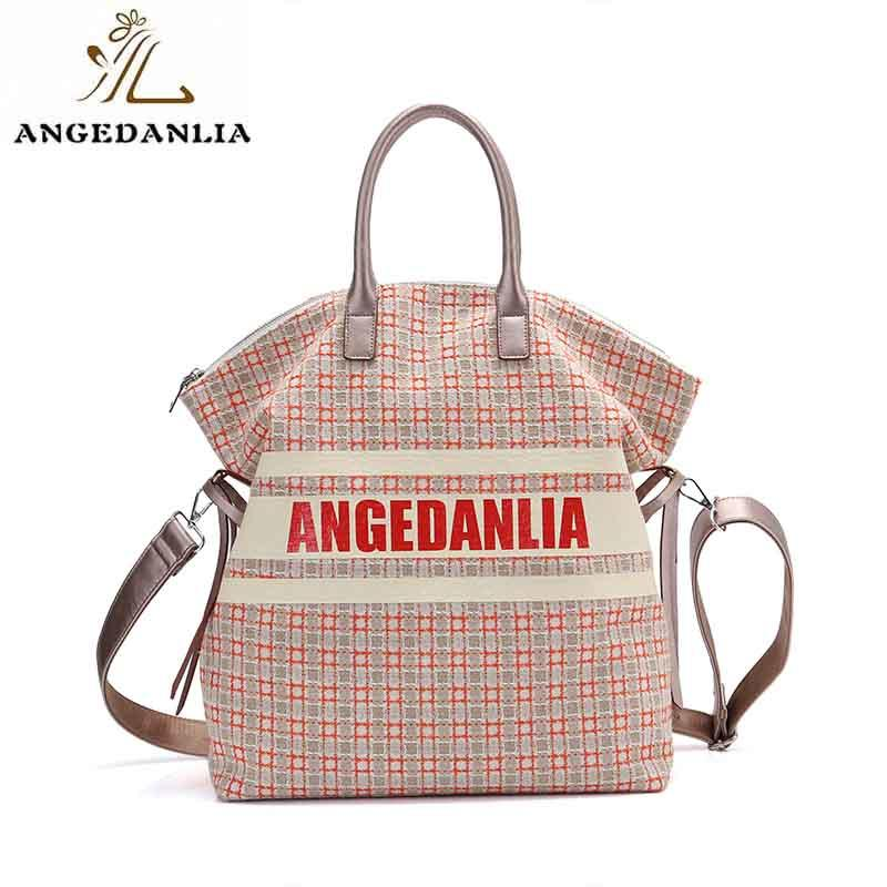 custom canvas bags promotional for shopping ANGEDANLIA