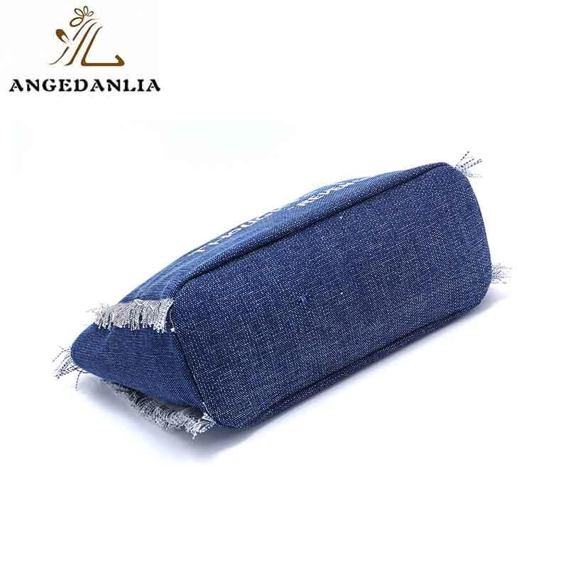 ANGEDANLIA zipper canvas bag on sale for shopping