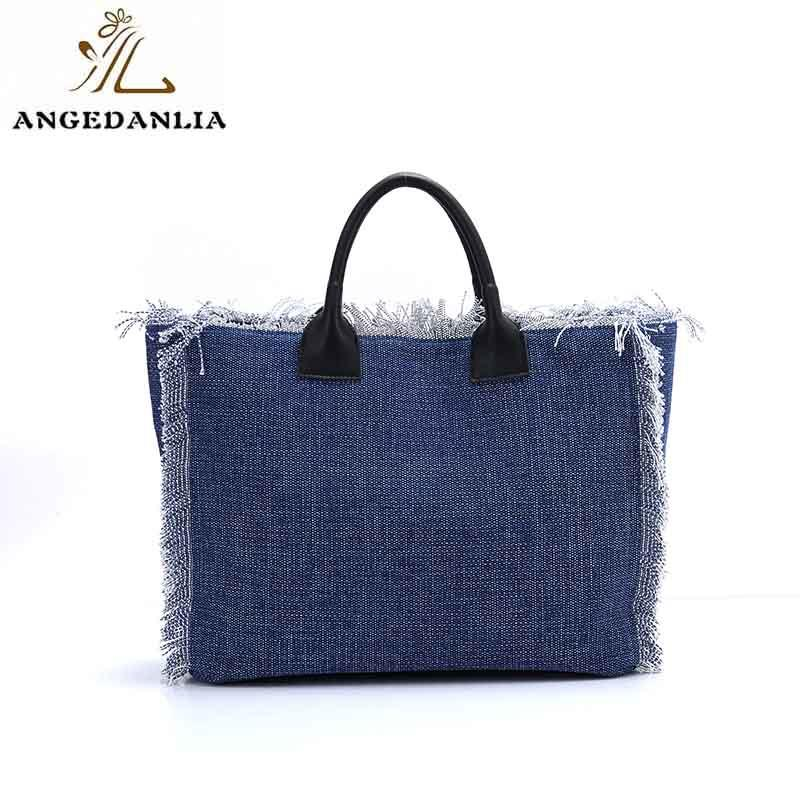 Wholesale design travel canvas tote bags ANGEDANLIA Brand
