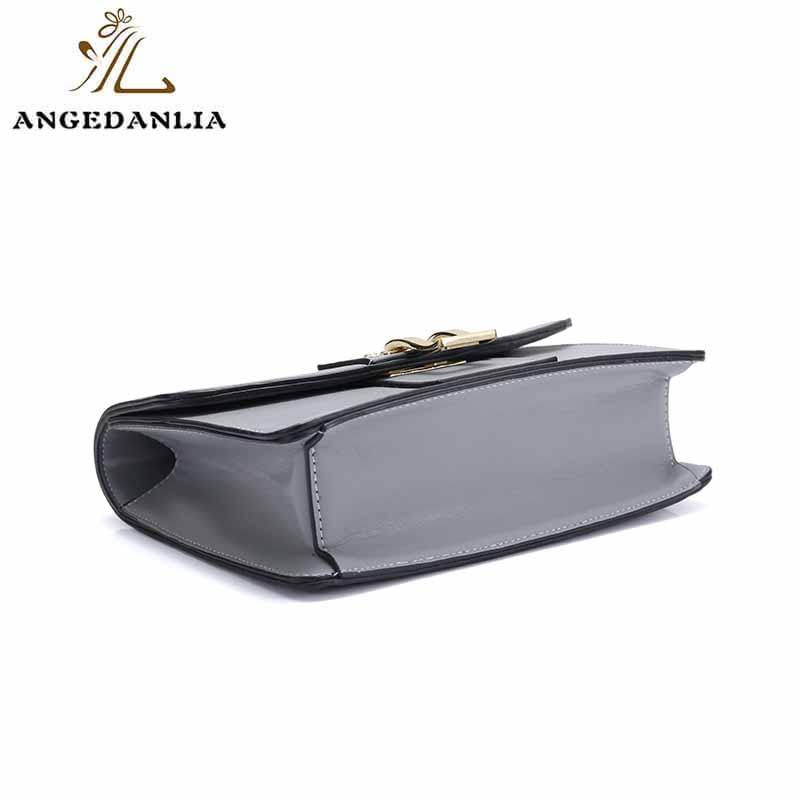 ANGEDANLIA summer green leather bag on sale for women-5