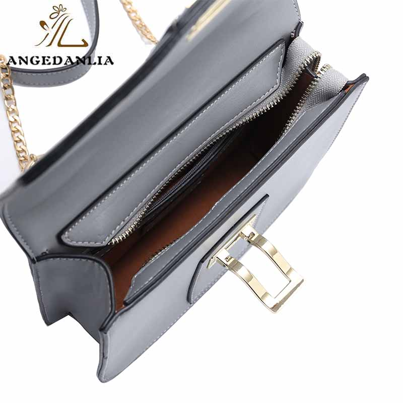 ANGEDANLIA summer green leather bag on sale for women-7