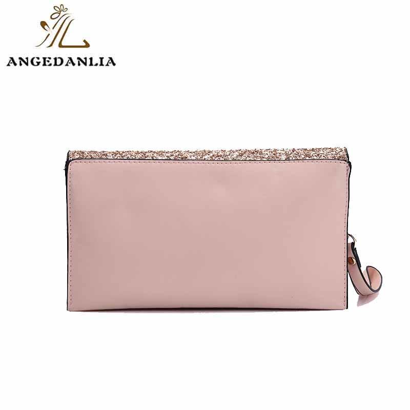 Shine powder women and ladies envelope clutch bag tote handbag bag