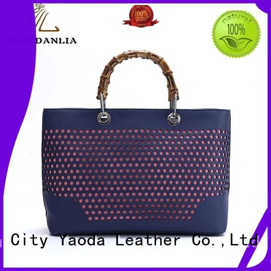 ANGEDANLIA wings pu leather bag on sale for travel